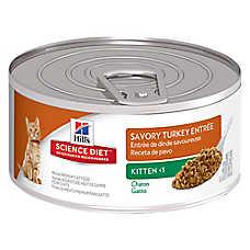 Hill's® Science Diet® Kitten Food - Savory Turkey, 24 ct Case