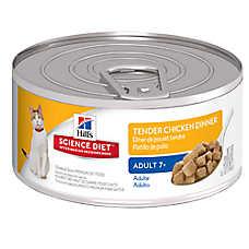 Hill's® Science Diet® Adult 7+ Cat Food - Tender Chicken Dinner, 24ct Case