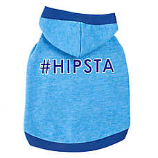 "Top Paw® ""#Hipsta"" Dog Hoodie"