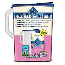BLUE Life Protection Formula® Small Breed Adult Bonus Bundle - Chicken & Brown Rice