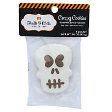Thrills & Chills Pet Halloween Creepy Cookies Skull Dog Treat