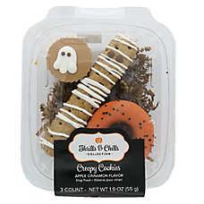 Thrills & Chills Pet Halloween Creepy Cookies Gift Pack Dog Treat