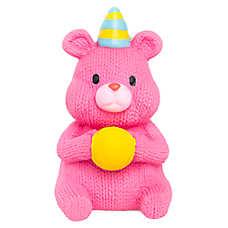 Top Paw® Birthday Bear Dog Toy - Squeaker