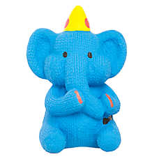 Top Paw® Birthday Elephant Dog Toy - Squeaker