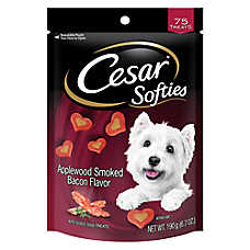 Cesar® Softies Dog Treat - Applewood Smoked Bacon