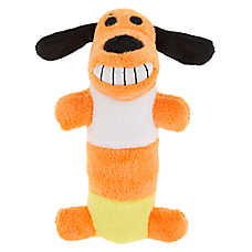 BOBO™ Candy Corn Dog Toy - Plush, Squeaker