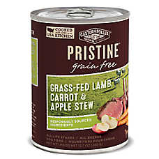 Castor & Pollux PRISTINE™ Grain Free Dog Food - Grass-Fed Lamb, Carrot & Apple Stew