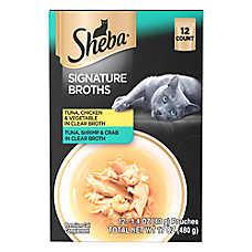 SHEBA® Signature Broths Cat Treat - Multi-Pack, 12ct