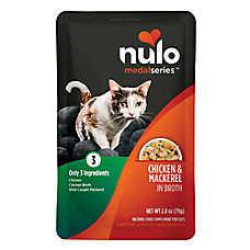 Nulo MedalSeries Cat Food Topper - Natural, Chicken & Mackerel