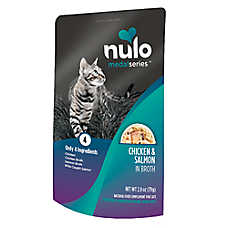 Nulo MedalSeries Cat Food Topper - Natural,  Chicken & Salmon