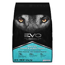 EVO Adult Dog Food - Grain Free, Gluten Free, Herring & Salmon