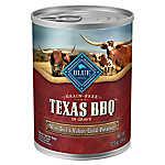 BLUE Texas BBQ Dog Food - Natural, Grain Free, Beef, Potatoes, Carrots, Sweet Potatoes & Apples