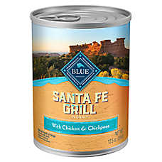 BLUE Santa Fe Grill Dog Food - Natural, Chicken, Brown Rice, Chickpeas & Tomatoes