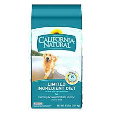 California Natural Limited Ingredient Diet Dog Food - Natural, Herring & Sweet Potato