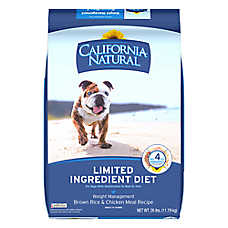 California Natural Limited Ingredient Diet Weight Management Dog Food - Brown Rice & Chicken Meal