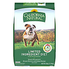 California Natural Limited Ingredient Diet Weight Management Dog Food - Brown Rice & Lamb Meal