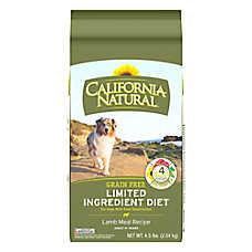 California Natural Limited Ingredient Diet Dog Food - Natural, Grain Free, Lamb Meal