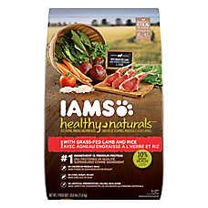 Iams® Healthy Naturals™ Adult Dog Food - Natural, Lamb & Rice