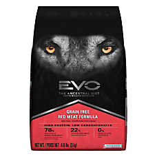 EVO Adult Dog Food - Grain Free, Gluten Free, Red Meat