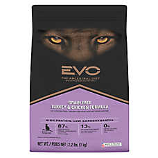 EVO Cat & Kitten Food - Grain Free, Gluten Free, Turkey & Chicken