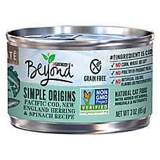 Purina® Beyond Simple Origins Cat Food - Natural, Grain Free, Cod, Herring & Spinach