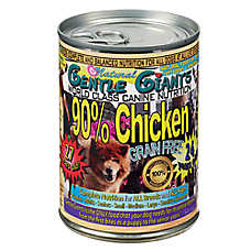 Gentle Giants Dog Food - Natural, Chicken, 12ct Case