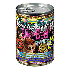 Gentle Giants Dog Food - Natural, Beef, 12ct Case