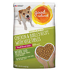 Good Natured™ Small Breed Adult Dog Food - Natural, Chicken & Barley