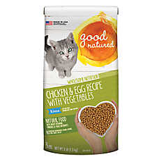 Good Natured™ Kitten Food - Natural, Chicken & Egg