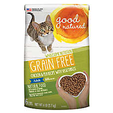 Good Natured™ Adult Cat Food - Grain Free, Natural, Chicken & Peas