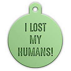 "Petfetch Smart Pet Tag ""Lost My Humans"""