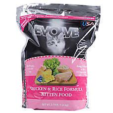 Evolve® Kitten Food - Chicken & Rice