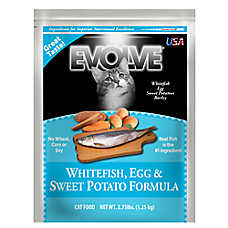 Evolve® Adult Cat Food - Whitefish, Egg & Sweet Potato