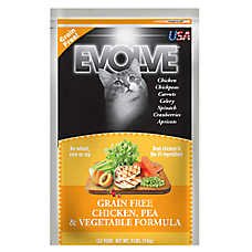 Evolve® Cat Food - Grain Free, Chicken, Pea & Vegetable