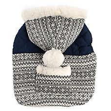 Top Paw® Fair Isle Sweater Pet Hoodie