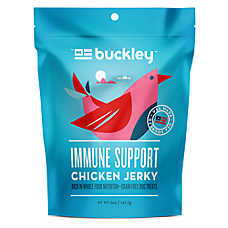 Buckley Immune Support Jerky Dog Treat - Grain Free