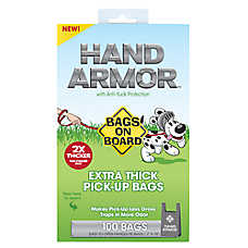 Bags on Board® Hand Armor™ Extra Thick Waste Pick Up Bags