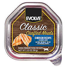 Evolve® Classic Crafted Meals Cat Food - Chicken