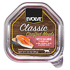 Evolve® Classic Crafted Meals Cat Food - Salmon
