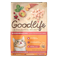 Goodlife Adult Cat Food - Natural, Chicken & Brown Rice