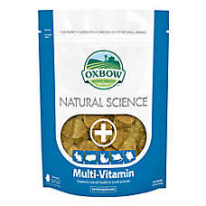 Oxbow Natural Science Multi-Vitamin Small Animal Supplements