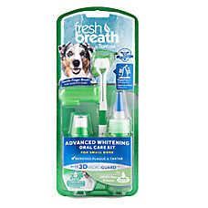 TropiClean® Fresh Breath® Advanced Whitening Small Dog Oral Care Kit