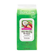 TropiClean® Deodorizing Deep Cleaning Pet Wipes
