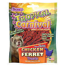 Brown's® Tropical Carnival® Chicken Jerky Ferret Treats