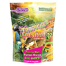Brown's® Tropical Carnival® Fruit and Nut Parrot Big Bites