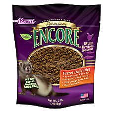 Brown's® Encore® Premium Ferret Food