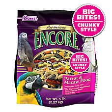 Brown's® Encore® Premium Chunky Parrot Food