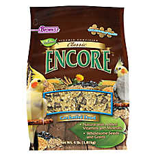 Brown's® Encore® Classic Natural Cockatiel Food