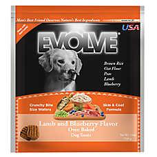 Evolve® Dog Treat - Lamb & Blueberry