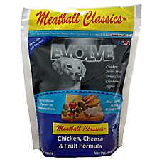 Evolve® Meatball Dog Treat - Chicken, Cheese & Fruit